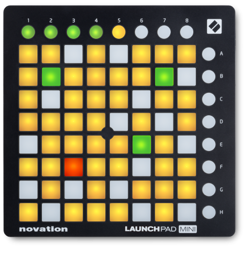 Novation Launchpad Mini MK2 MIDI Pad Controller