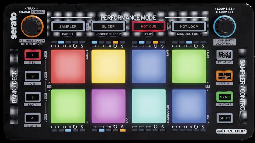 Reloop Neon USB MIDI Pad Controller