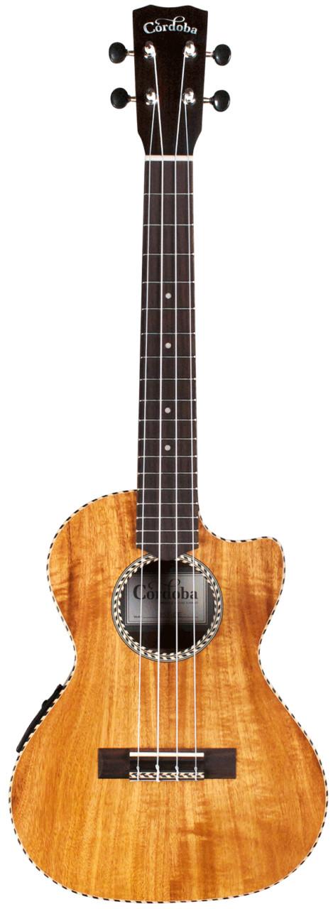 Cordoba 25T-CE Tenor Cutaway Acoustic-Electric Ukulele