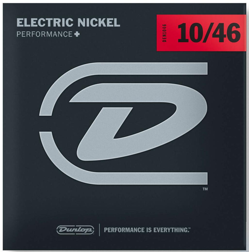 Dunlop DEN1046 Nickel Plated Steel Electric Strings