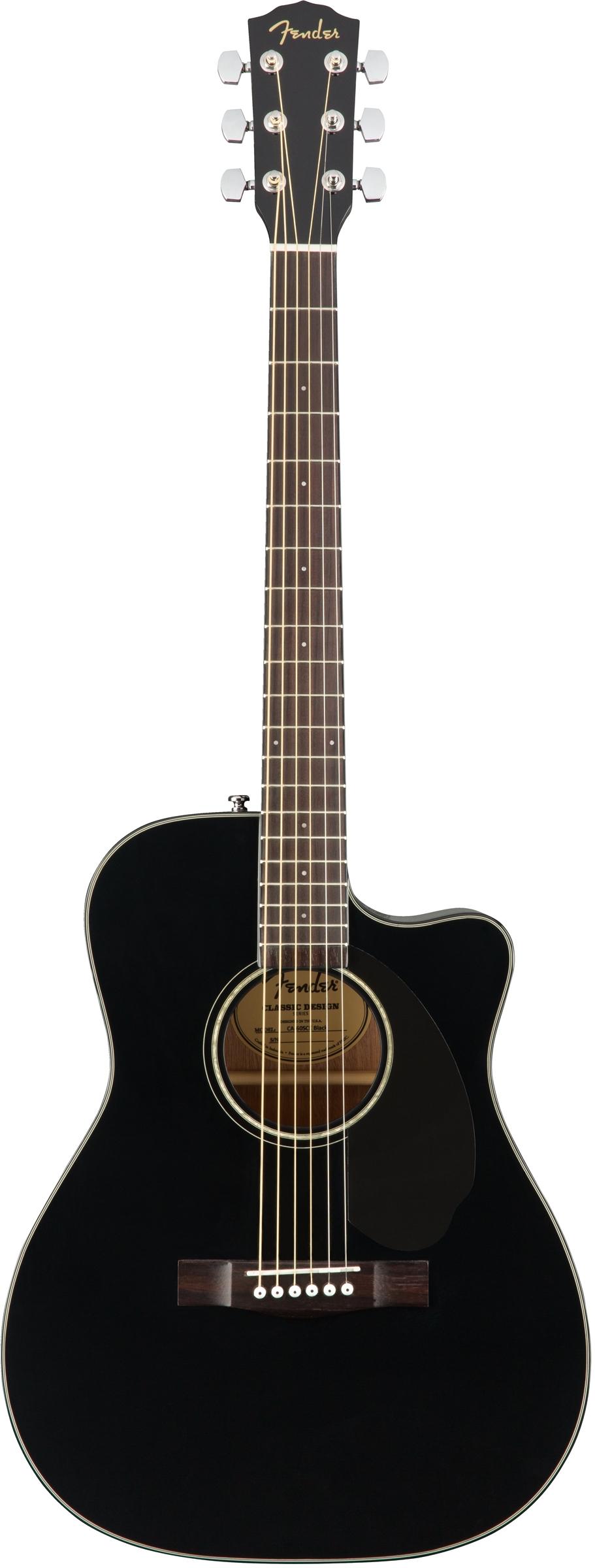 Fender CC-60SCE 6 String Acoustic-Electric Guitar