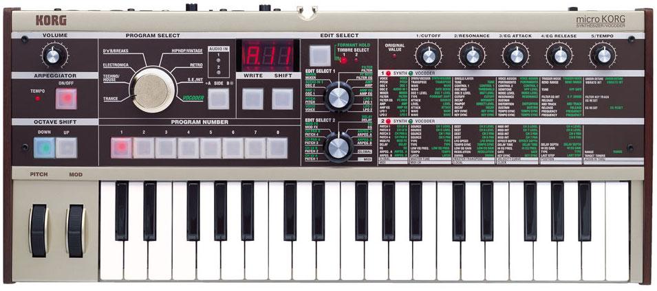 Korg microKORG Virtual Analog Digital Synthesizer with Vocoder