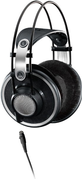 AKG K702 Reference Studio Headphones - Open-Back