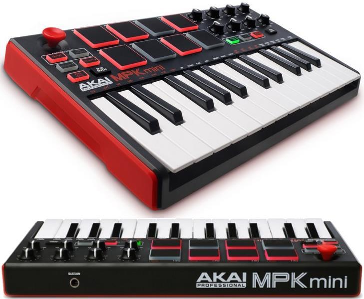 Akai MPK Mini MKII 25-Key USB MIDI Controller