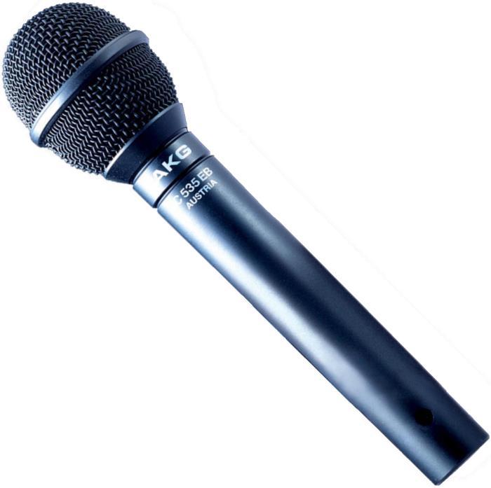 AKG C535 EB Handheld Condenser Stage Microphone
