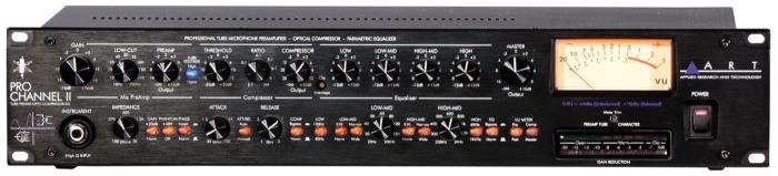 ART Pro Channel II Channel Strip & Tube Preamp