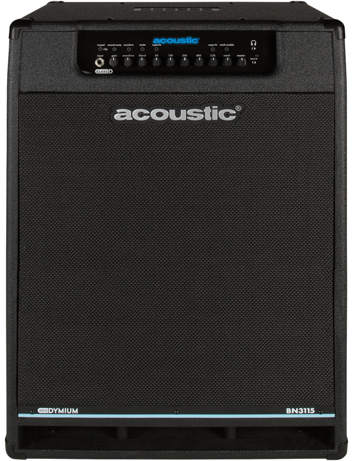 Acoustic BN3115 Bass Combo Amplifier