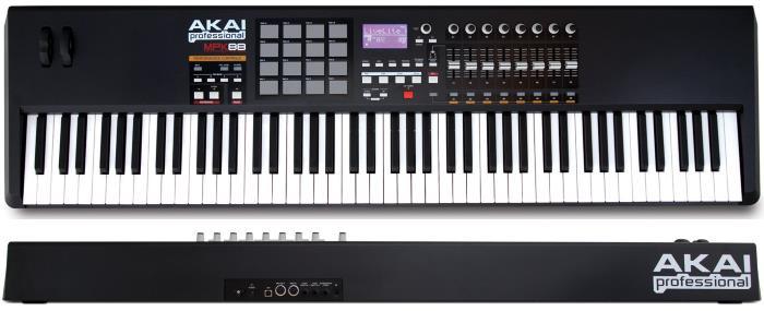 Akai Professional MPK88 - 88-Key MIDI Keyboard Controller