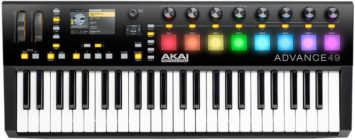 Akai Professional Advance - 49 Key MIDI Controller Keyboard