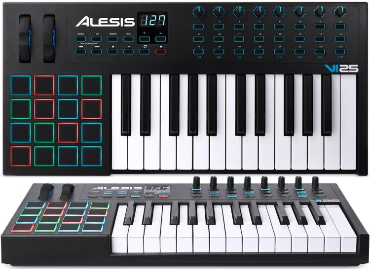 the best 25 key midi controller keyboards gearank. Black Bedroom Furniture Sets. Home Design Ideas