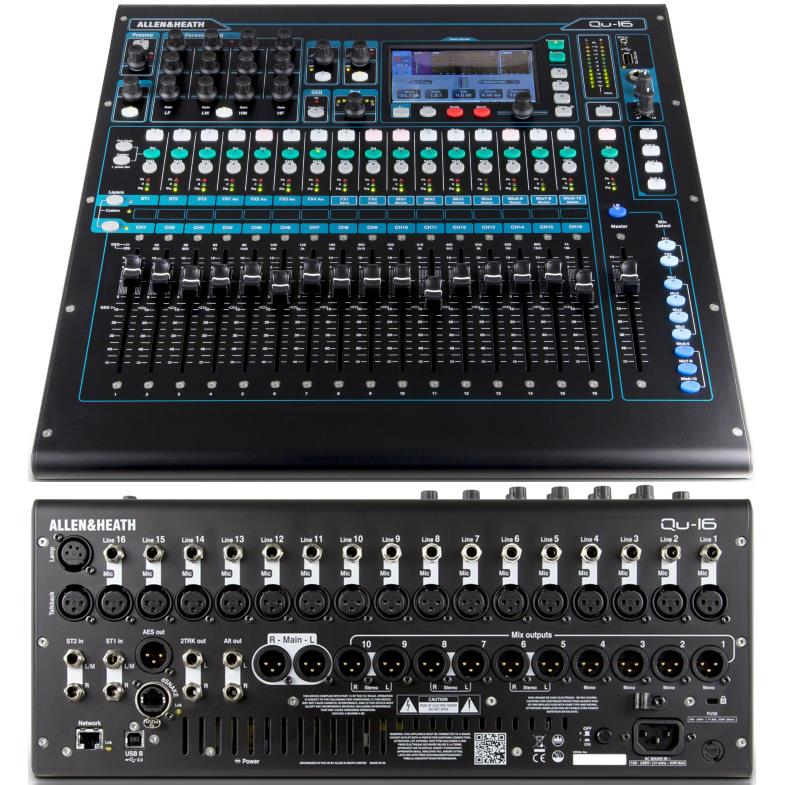 The Best Audio Mixer Consoles - Powered & Unpowered - 2018