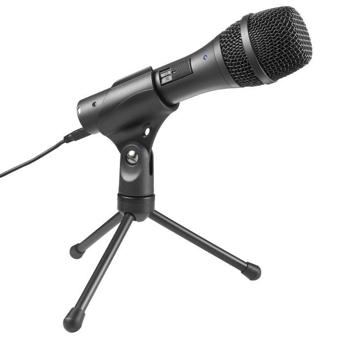 Audio-Technica AT2005USB Handheld Dynamic USB/XLR Microphone