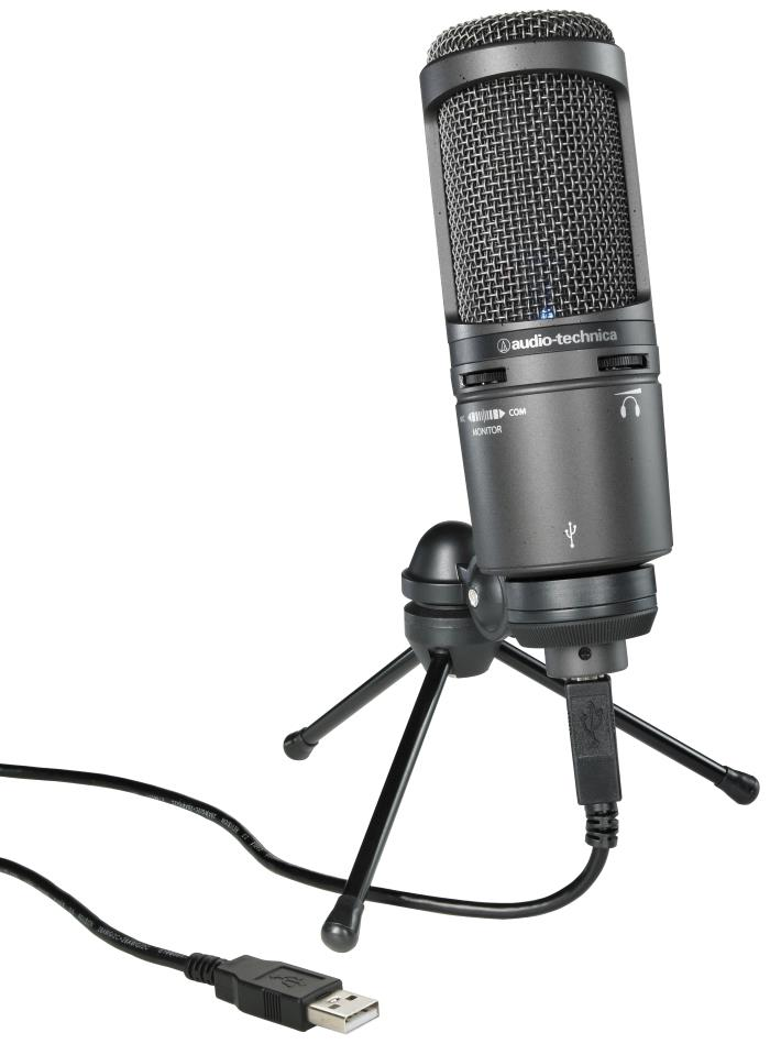 Audio-Technica AT2020USB+ USB Condenser Microphone