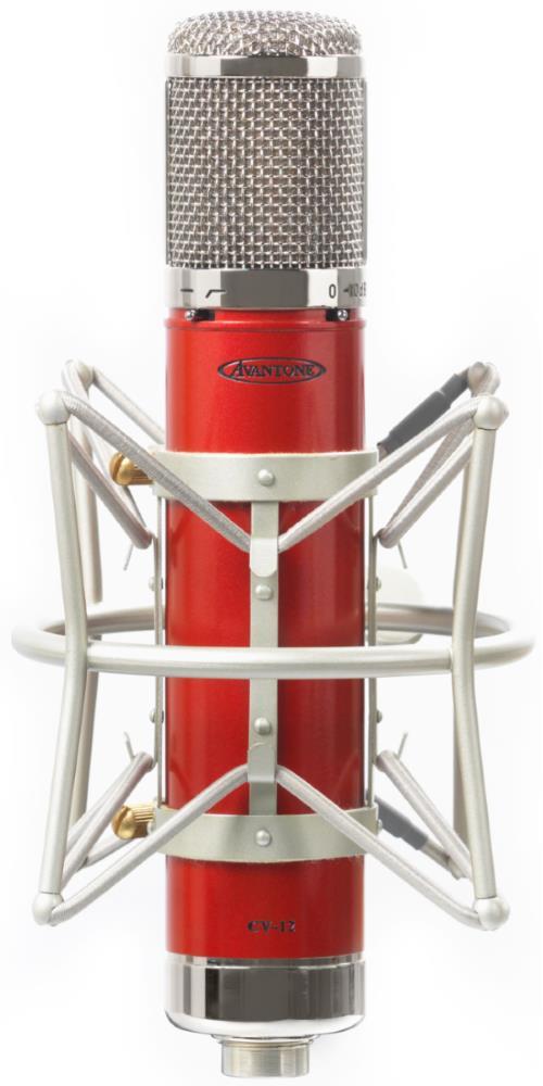 Avantone CV-12 Multi-Pattern Large Capsule Tube Condenser Microphone