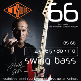 Rotosound BS66 Billy Sheehan Bass Guitar Strings