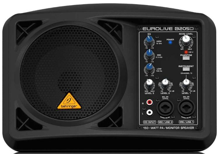 Behringer Eurolive B205D 150 watt Powered PA Speaker