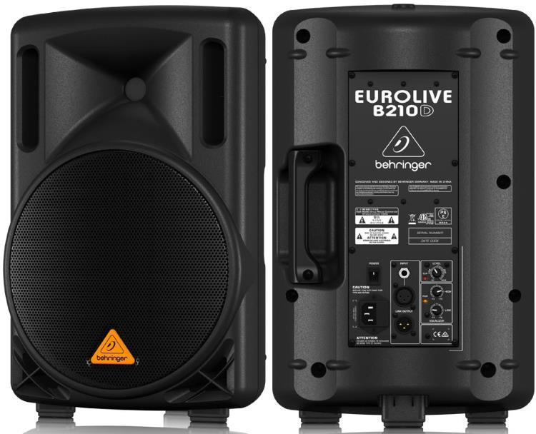 Behringer Eurolive B210D Powered PA Speaker - 200W