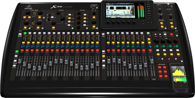the best audio mixer consoles powered unpowered gearank. Black Bedroom Furniture Sets. Home Design Ideas