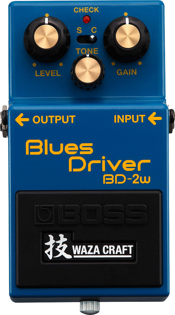 Boss BD-2W Blues Driver Waza Craft Overdrive Pedal