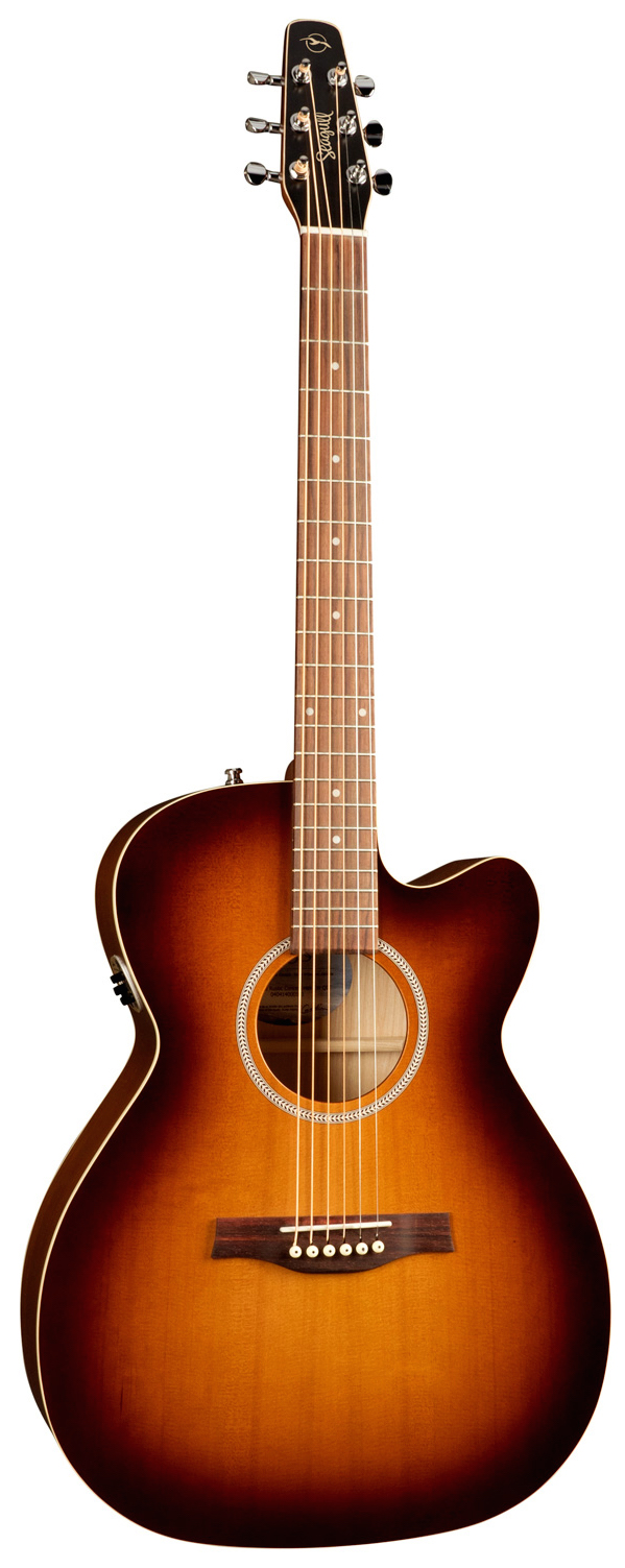 Seagull Entourage Rustic Concert Hall 6 String Acoustic-Electric Guitar