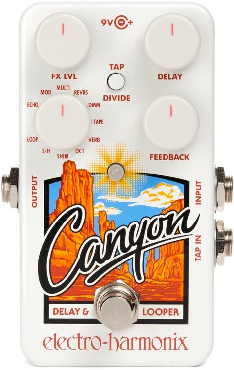 Electro-Harmonix Canyon Digital Delay and Looper Pedal
