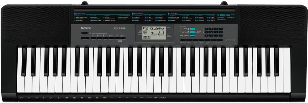 Casio CTK-2550 61-Key Portable Arranger Keyboard