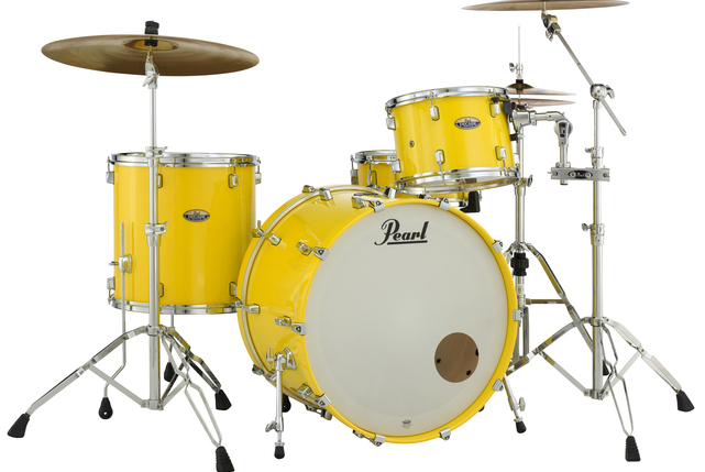 "Pearl Decade Maple 3-Piece Acoustic Drum Set w/ 24"" Kick"