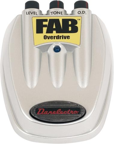Danelectro D-2 FAB Overdrive Pedal