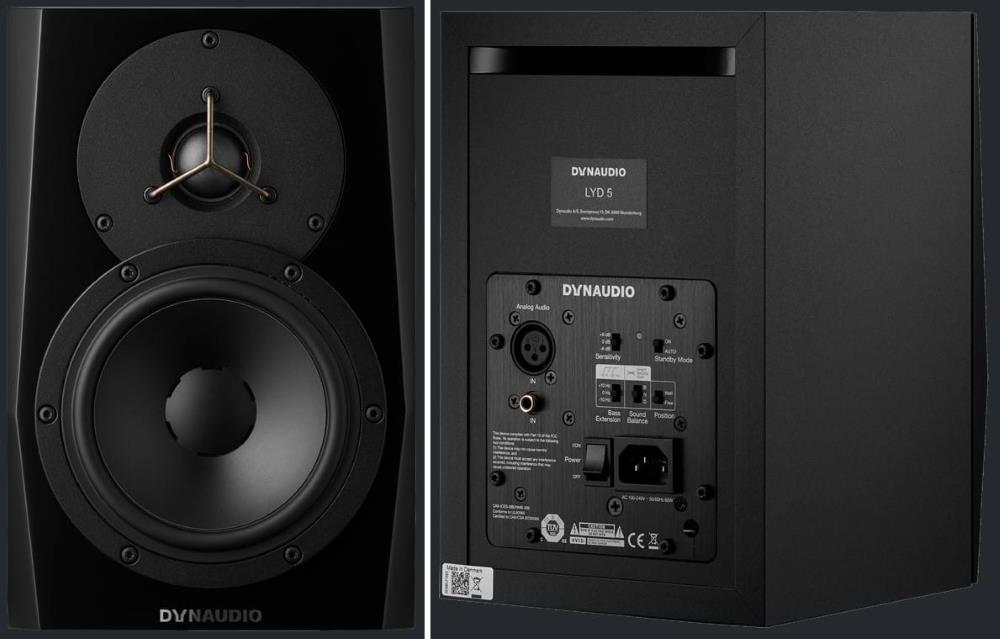 Dynaudio LYD 5 Powered Studio Monitor