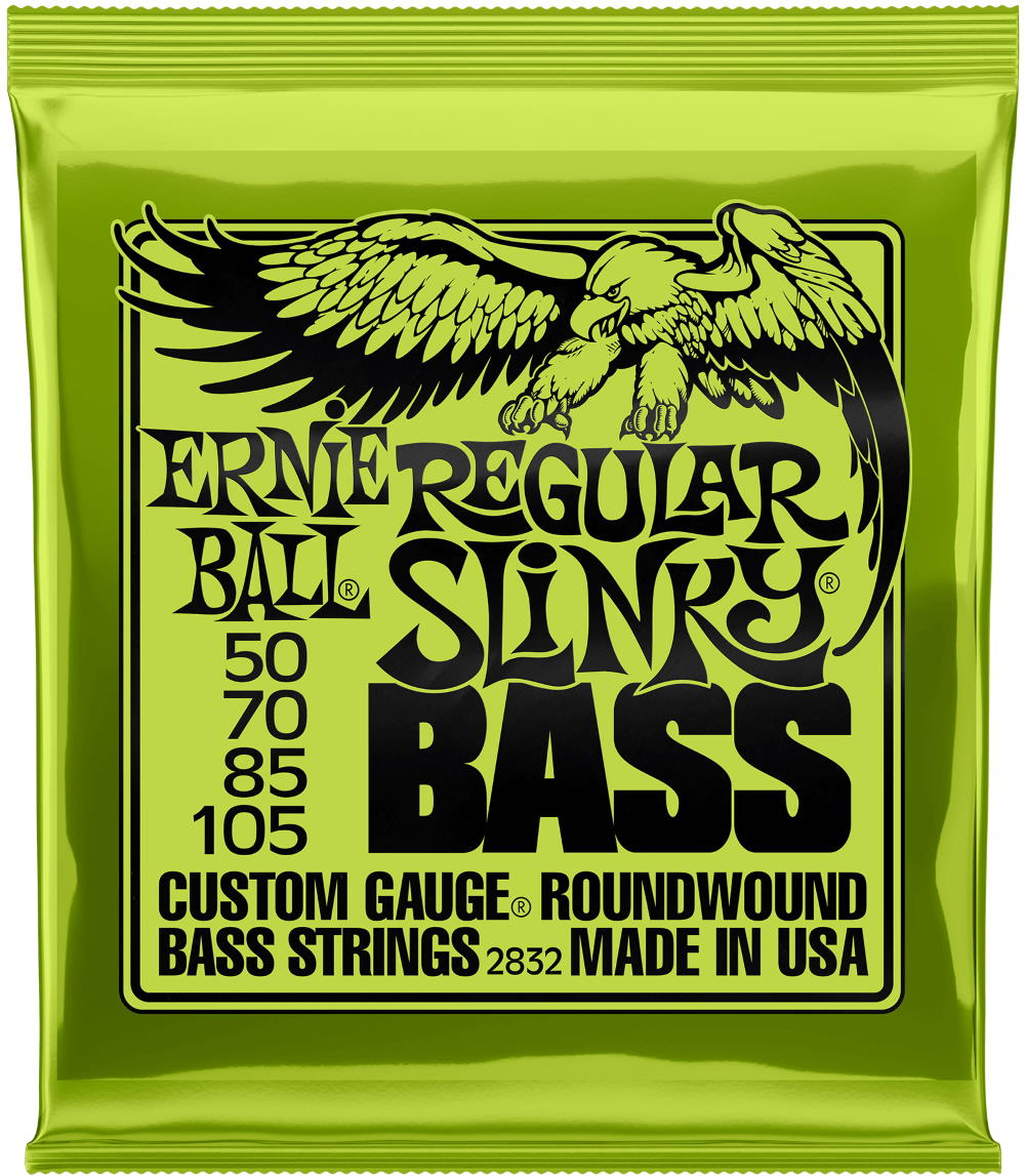 Ernie Ball 2832 Regular Slinky Roundwound Bass Guitar Strings