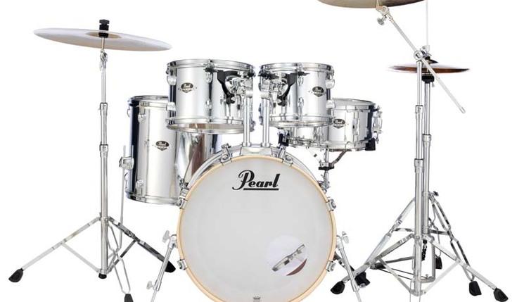 "Pearl Export EXX Standard 5-Piece Drum Set w/  22"" Kick"