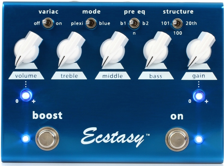 Bogner Ecstasy Blue Overdrive/Distortion Pedal