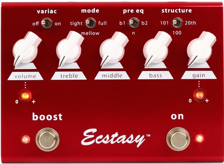 Bogner Ecstasy Red Overdrive/Distortion Pedal