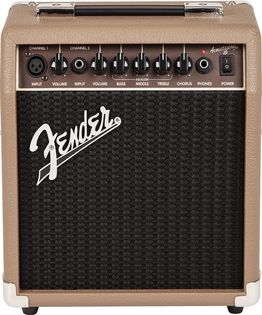 Fender Acoustasonic 15 15-Watt Acoustic Guitar Combo Amp
