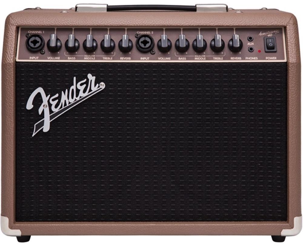Fender Acoustasonic 40 - 40 Watt Combo Acoustic Amplifier