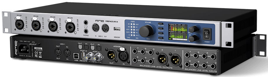 RME Fireface UFX II 30-Channel USB 2 Audio Interface