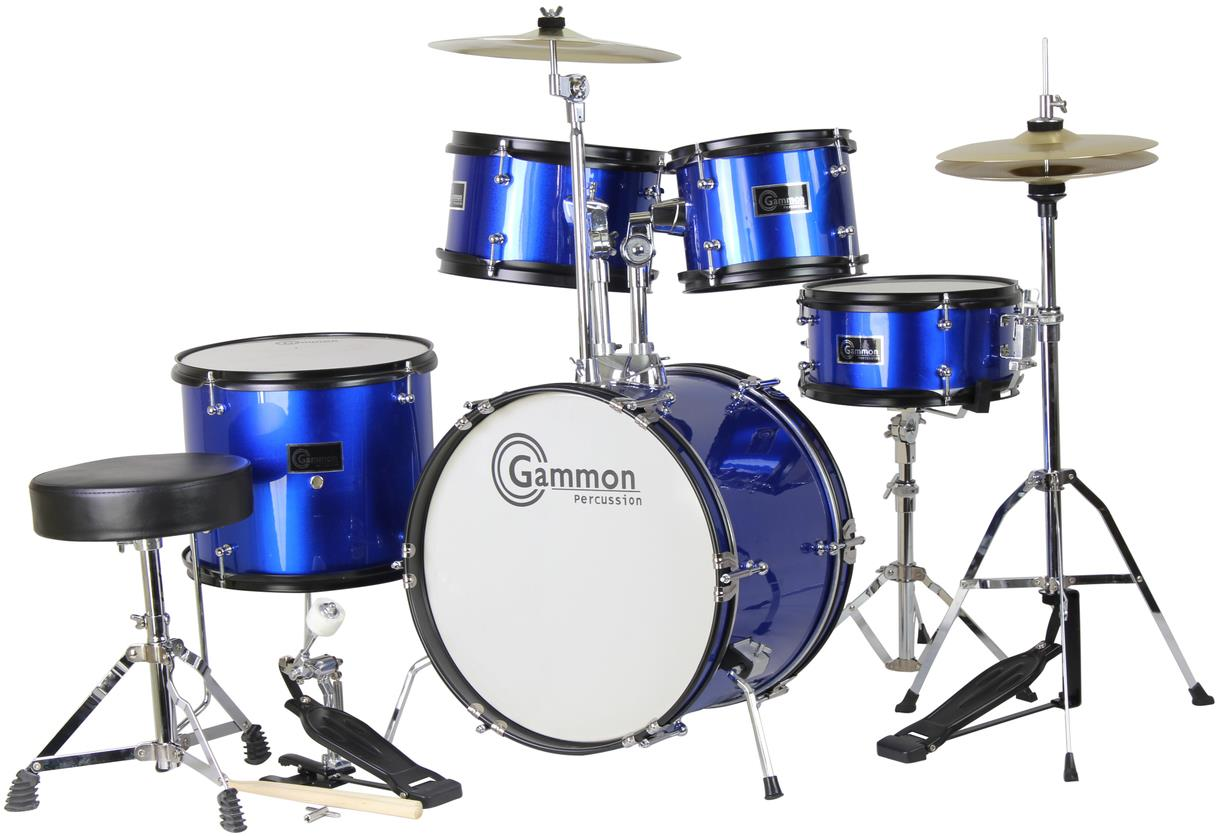Gammon Percussion Y1049 5-Piece Junior Acoustic Drum Set