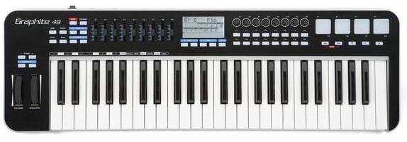 Samson Graphite 49 Key USB MIDI Keyboard Controller