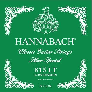 Hannabach 815 LT - Low Tension Nylon Classical Guitar Strings