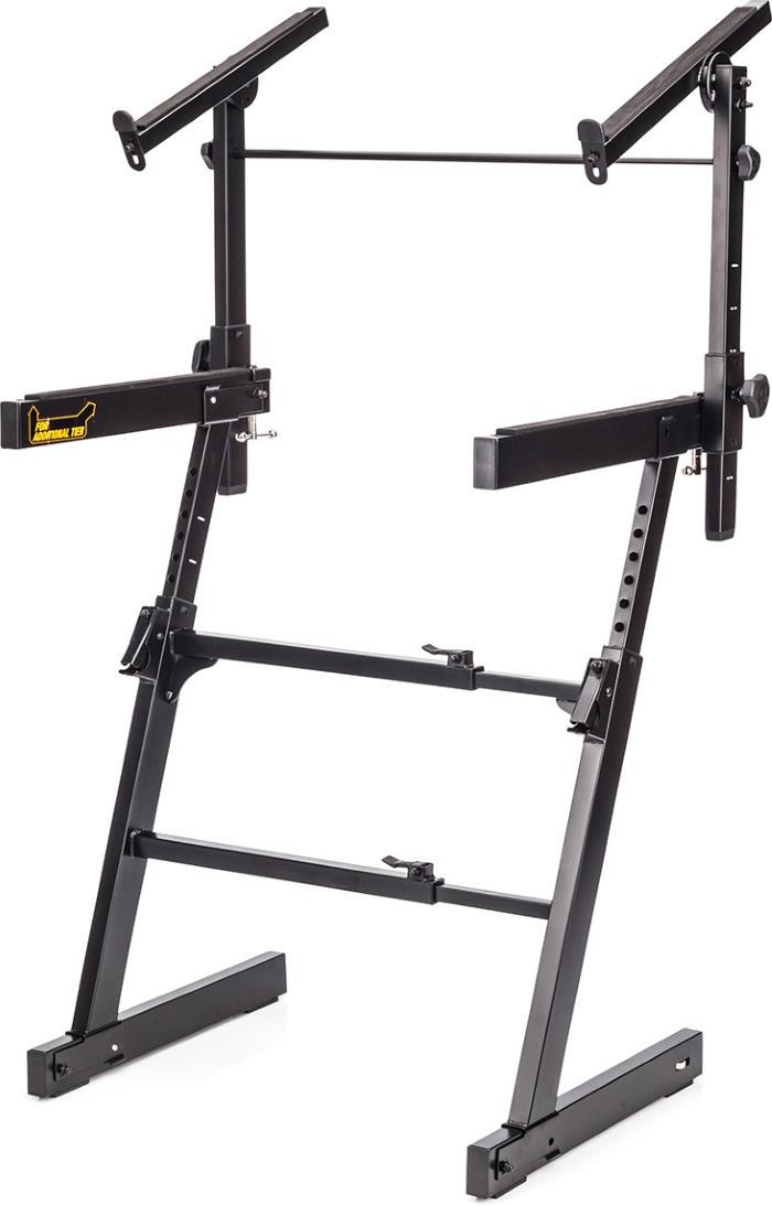 Hercules Stands KS410B 2 Tier Autolock Z-Keyboard Stand