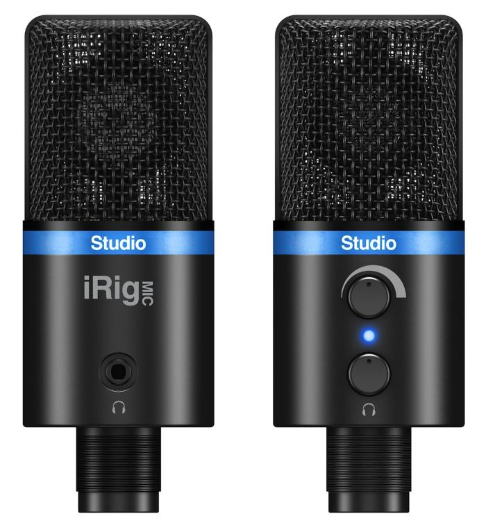 IK Multimedia iRig Mic Studio USB Microphone