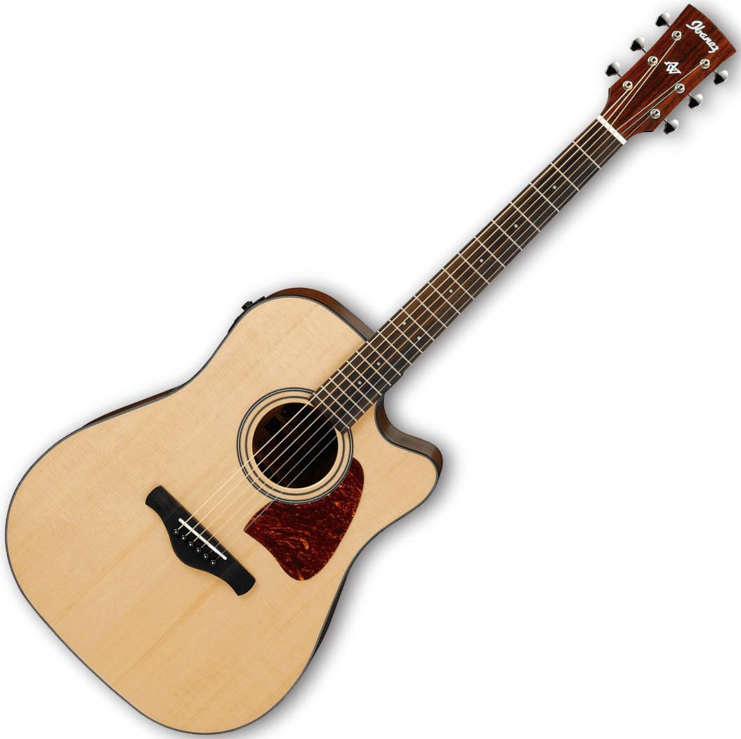 Ibanez AW400CE Acoustic-Electric Guitar
