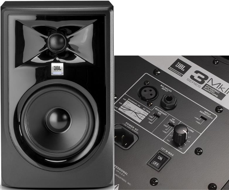 "JBL 305P MkII 5"" Powered Studio Monitor"