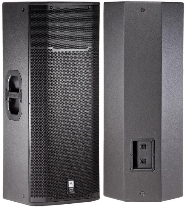 """JBL PRX425 Passive PA Speaker 1200W Dual 15"""" Woofers"""