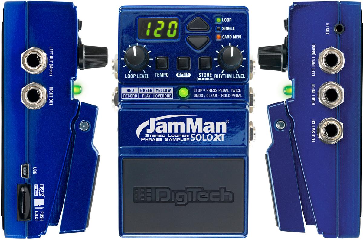 Digitech Jamman Solo XT Stereo Looper