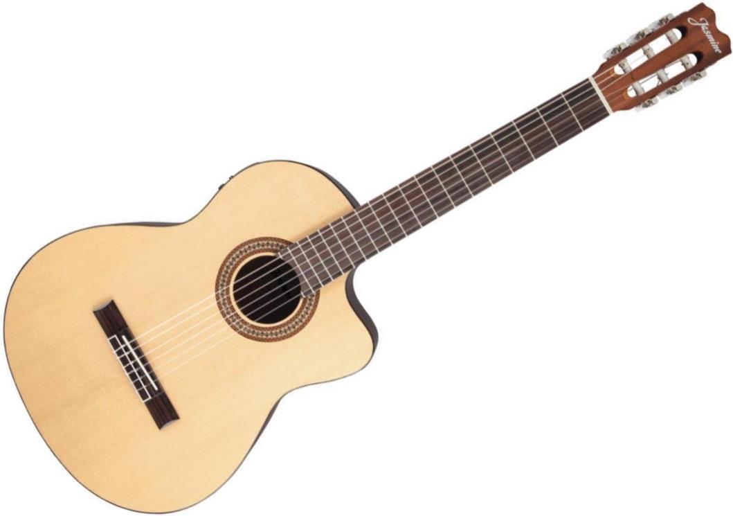 Jasmine JC-25CE Acoustic-Electric Nylon String Guitar