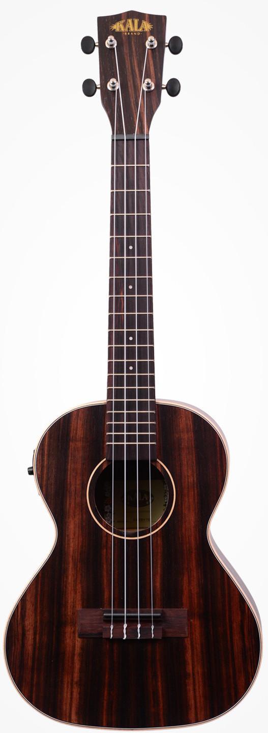 Kala KA-EBY-TE Ebony Tenor Acoustic-Electric Ukulele with EQ