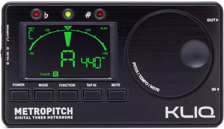 KLIQ MetroPitch - Metronome & Instrument Tuner