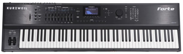 Kurzweil Forte 88-key Synthesizer and Stage Piano