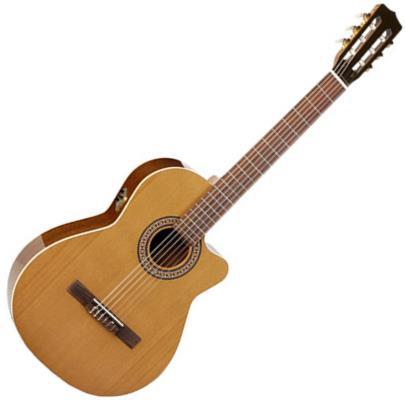 La Patrie Concert CW QI Acoustic-Electric Nylon String Guitar